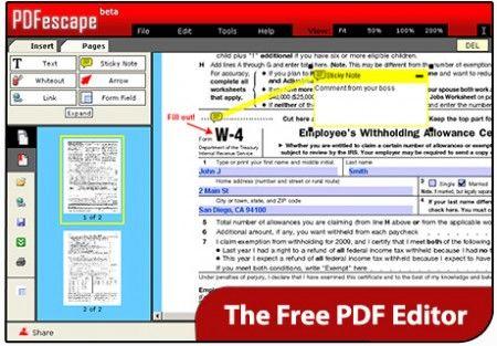 Anche in un testo in PDF si possono evidenziare le frasi, ecco come fare con PDFescape