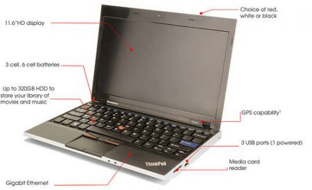 AMD su Lenovo ThinkPad X100e