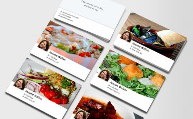 Facebook Card: le foto della timeline di Facebook sui biglietti da visita gratis da Moo