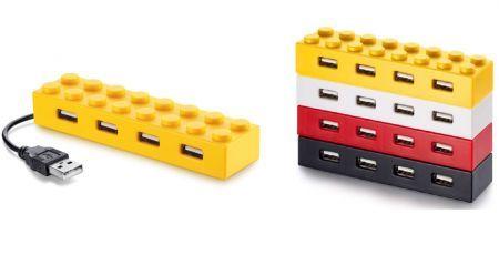 Toncadò propone nuovi Hub Usb ispirati ai mattoncini Lego