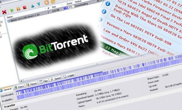 Nel download tramite client torrent gli italiani sono primi al mondo