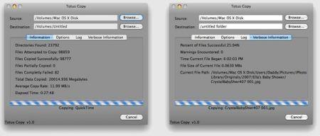 Totus Copy: l'arma finale per salvare i dati dall'HD del vostro Mac