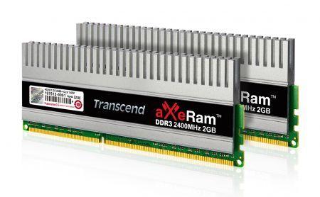 Transcend: nuovo kit di memoria aXeRam