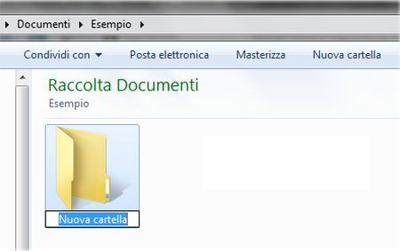 Trucchi per Windows 7: creare una nuova cartella rapidamente