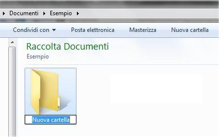 Trucchi per Windows 7: creare una nuova cartella rapidamente