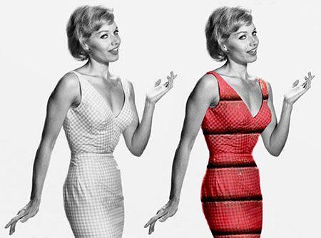 tutorial photoshop colore vestiti