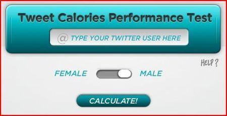 Tweetcalories: calcolare quante calorie consumiamo con i tweet