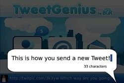 TweetGenius UI
