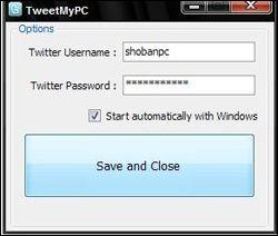 TweetMyPC: come amministrare il vostro PC tramite Twitter