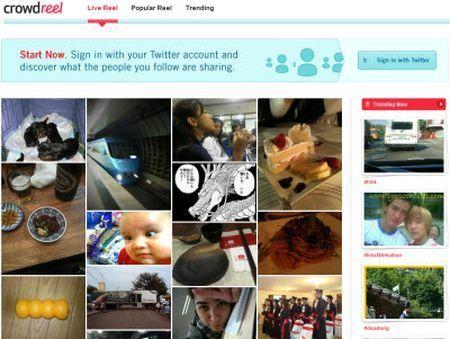Twitter: le migliori foto indicizzate con CrowdReel
