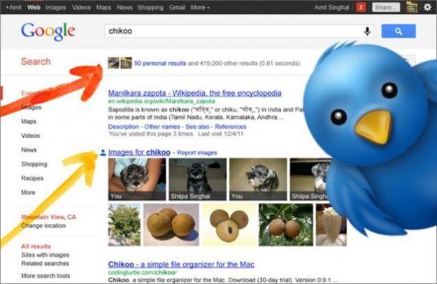Twitter contro Google: il simbolo @ non viene indicizzato