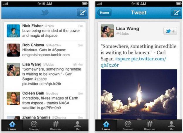 Twitter per iPhone riceve un aggiornamento corposo