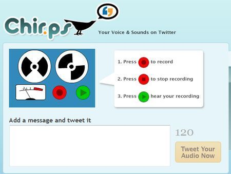 twitter messaggi audio