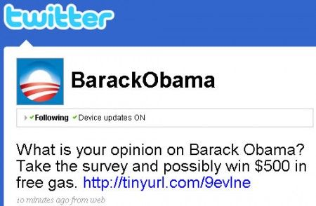 Twitter: violato account di Barack Obama