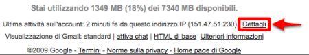 Ricordatevi del logout remoto di Gmail!