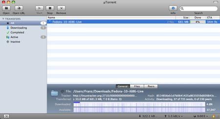uTorrent beta mac