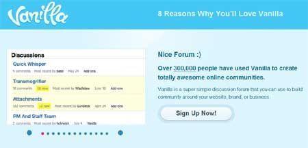 Come creare forum con Vanilla