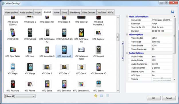 Convertire file audio e video in altri formati con Video To Video Converter