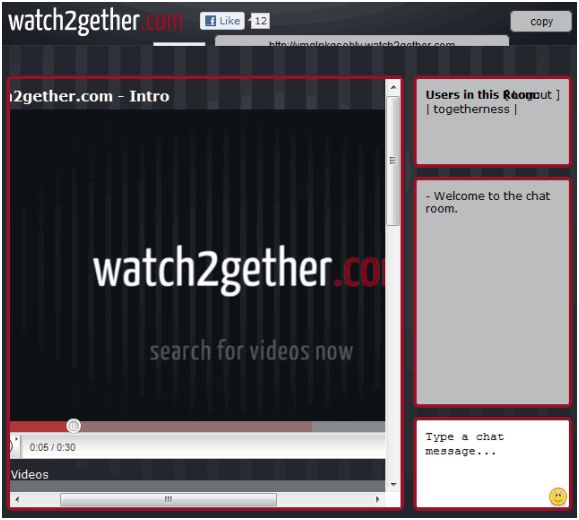 Guardare i video di YouTube con gli amici con Watch2gether