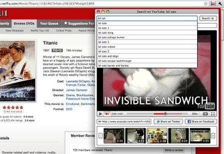 video youtube finestra dedicata chrome