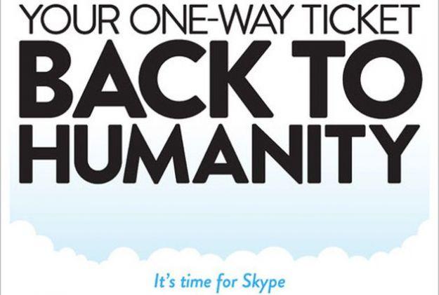 La videochiamata di Skype contro i social network, nuova campagna del servizio VoIP