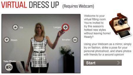 virtual dress up