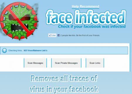 Virus su Facebook: rimuovere i link maligni dal proprio profilo con Face Infected