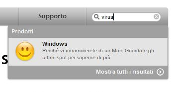 Lo scherzetto dell'Apple Store su Windows