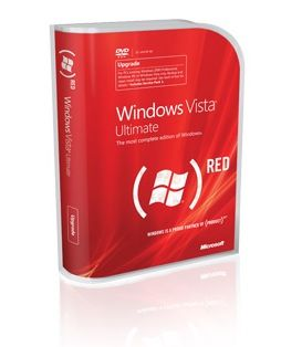 Microsoft venderà Windows Vista Ultimate (PRODUCT) Red