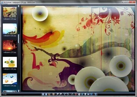 Visualizzare e modificare immagini con BS Picture