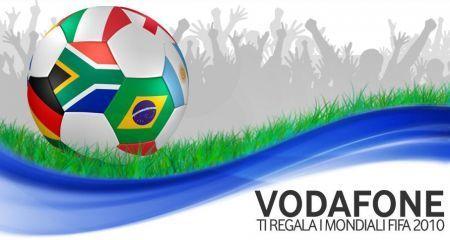 Mondiali di calcio su smartphone con Vodafone