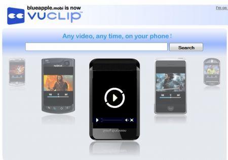 VuClip: lo streaming facile sul vostro cellulare