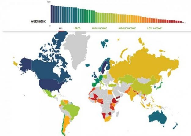 Web Index: tutti i numeri di internet nell'analisi della World Wide Web Foundation