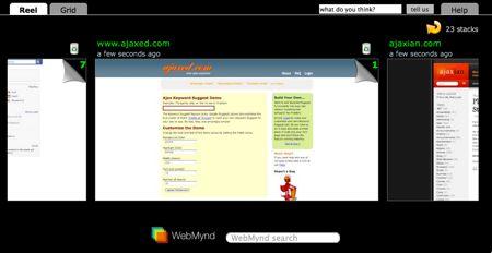 webmynd cronologia
