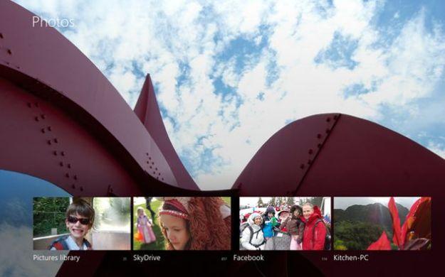Windows 8, tutti i dettagli sull'applicazione Foto