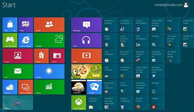 windows 8 falle