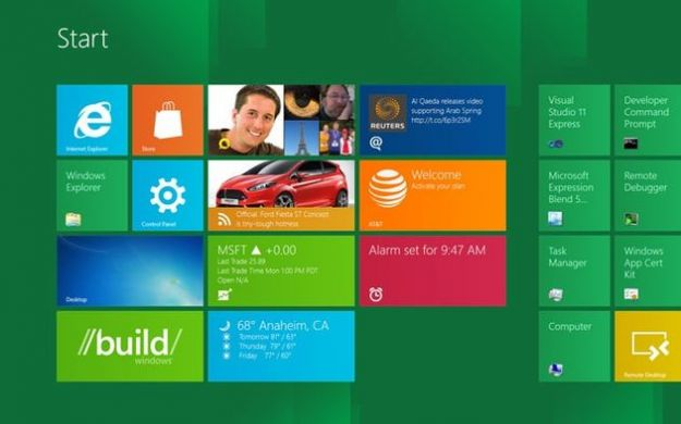 windows 8 novita