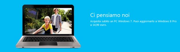 Al via la Windows Upgrade Offer di Microsoft