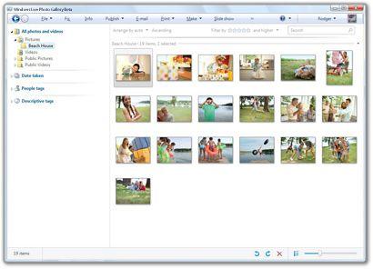 Windows Live Photo Gallery 2