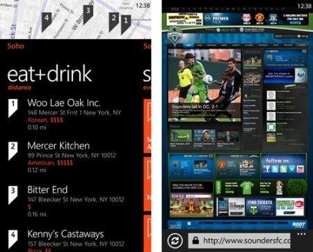 windows phone 7 mango browser