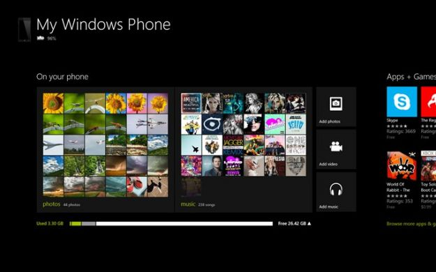 Apps Windows 8: l'applicazione per gestire Windows Phone 8