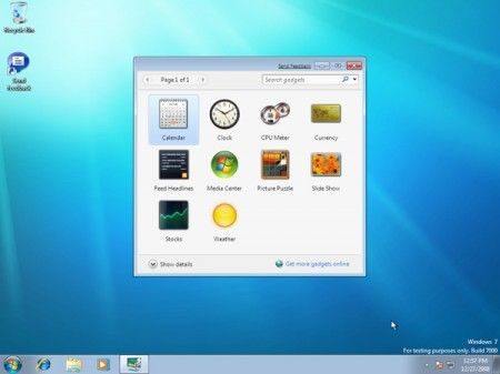 windows7 starter sfondo