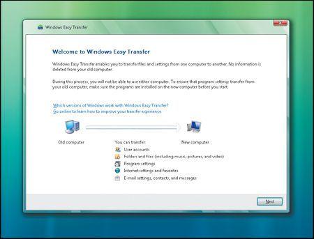 Windows 7: backup dati con Windows Easy Transfer