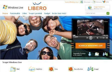 Windows Live e Libero partnership ufficiale