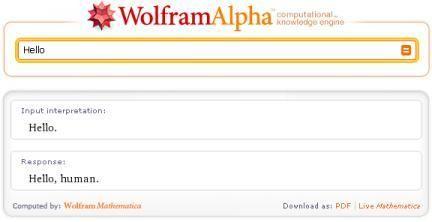 Wolfram alfa
