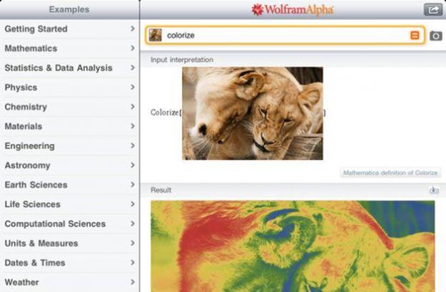 Wolfram Alpha su iPhone e iPad adesso analizza anche le immagini