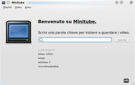 Youtube Player per Windows: tra i migliori c'è Minitube