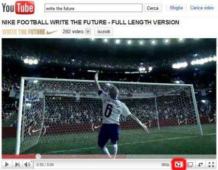 YouTube: arriva il pulsante per l'effetto Vuvuzela