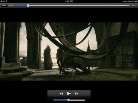 yxplayer permette la riproduzione di video in formato DivX e XviD su iPad