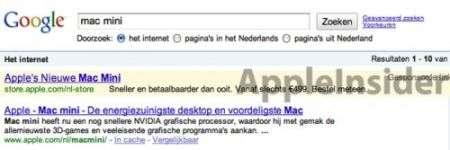 Apple Google AdSense